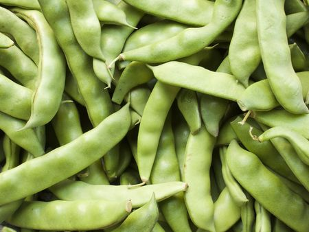 Snap Peas Background, Pattern or Texture  Stock Photo