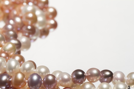 freshwater pearl: freshwater pearl Stock Photo