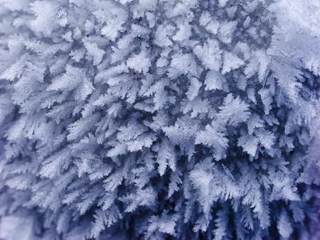 Closeup of snow