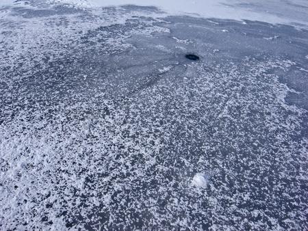 Hole on the ice