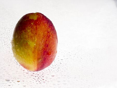 Closeup of peach Stock Photo