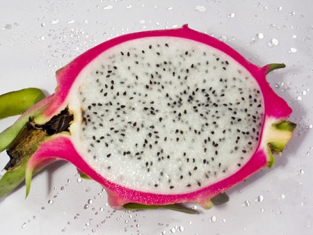 Closeup of pitaya