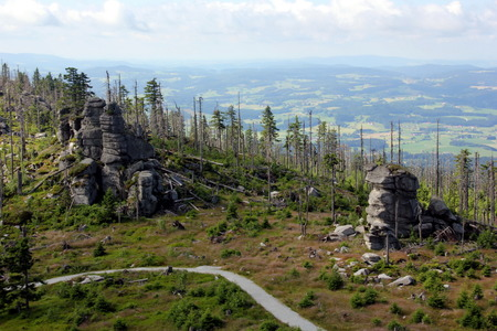 bundes: Dreisesselberg, Germany