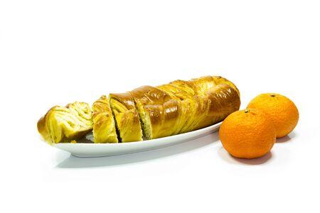 Sugar orange roll
