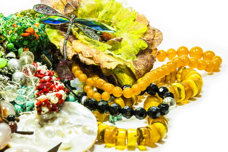 beautiful jewelry Stock Photo