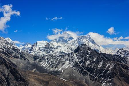 mt: Mt. Everest Himalayas. Nepal.