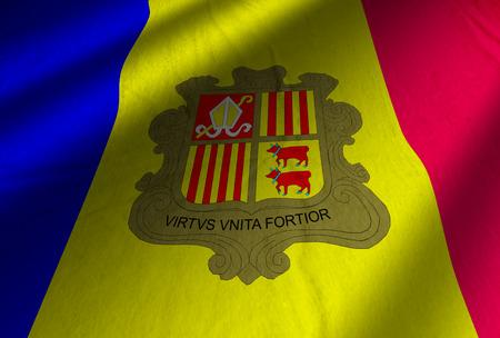 Authentic Andorra flag