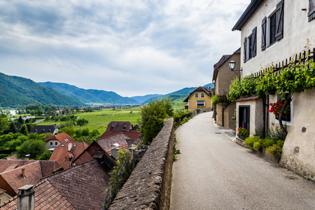 Weissenkirchen in der Wachau, a town in the district of Krems-Land in Lower Austria, Wachau Valley, Austria