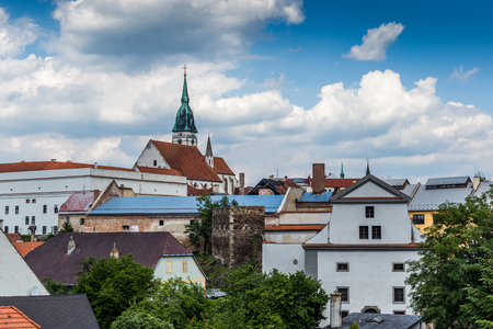 Jindrichuv Hradec. City in South Bohemian region, Czech Republic, Central Europe.