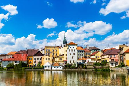 Jindrichuv Hradec. City in South Bohemian region, Czech Republic, Central Europe.