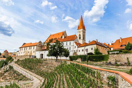 St. Nicholas Deanery Church. Znojmo, Czech Republic. 版權商用圖片