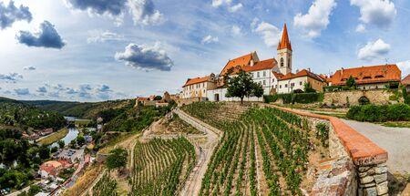 St. Nicholas' Deanery Church. Znojmo, Czech Republic. 版權商用圖片 - 127535784