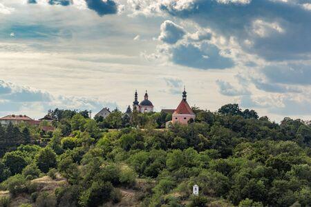 Monastery, Church of St. Hippolytus and St. Anthony church, Znojmo, southern Moravia, Czech republic.