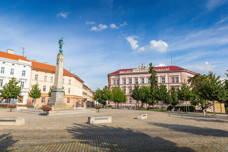 Square in Znojmo - Czech Republic. Historical center. Downtown. 版權商用圖片 - 127535886