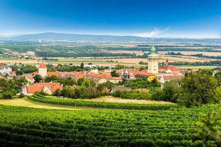 Small town Retz in the region Weinviertel, Austria.