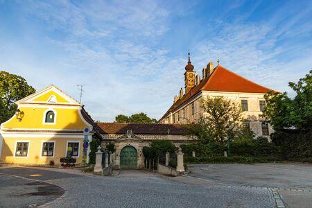 Castle Gatterburg. Small town Retz in the region Weinviertel, Austria.