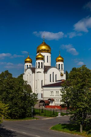 Church of the introduction to the temple of the blessed virgin Mary. Veshnyaki, Moscow.