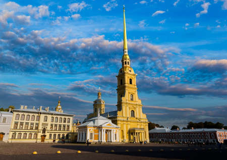 Peter and Paul Fortress, St. Petersburg, Russia 新聞圖片