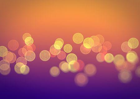 sfondo luci: Bright multi-splendeva tazze colorate su uno sfondo a colori Archivio Fotografico