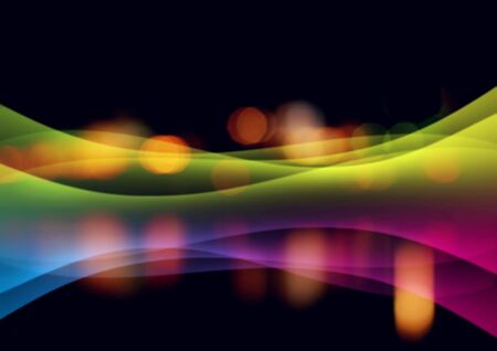 Abstract background with shone bright multi-coloured lines
