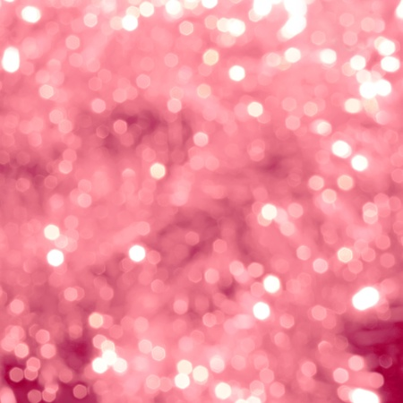 holiday lighting: Bright abstract background with pink bokeh