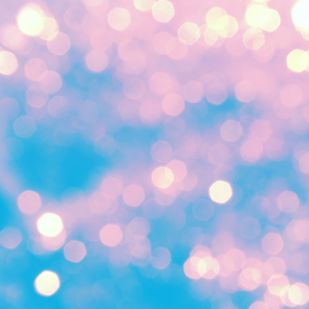Bright abstract background with pink bokeh Stock Photo - 8621109
