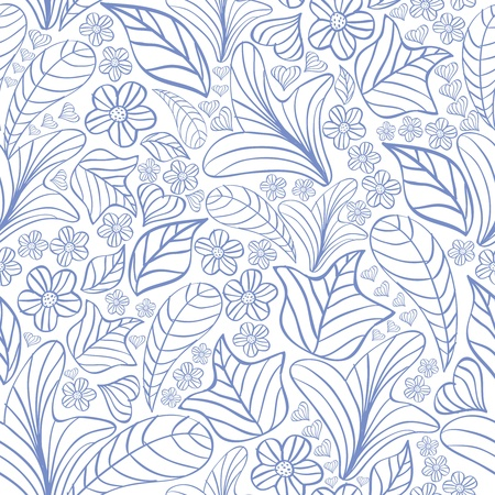 Seamless floral pattern Stock Vector - 16273698