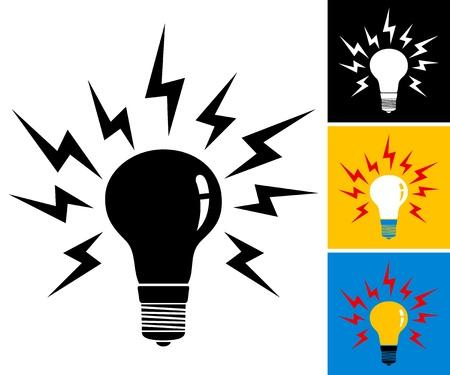illustration of the light bulb Stock Vector - 18810550