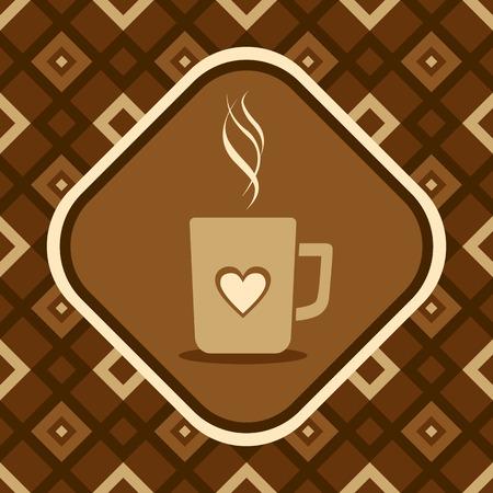 Illustration of a coffee mug Vector