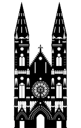 gothic architecture: Gothic cathedral, Gothic church, medieval ages temple
