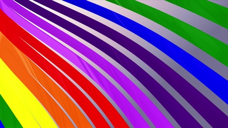 soft waving striped fabric abstract lines illustration background new art colorful cool nice beautiful 3D rendering 4k artistic stock image Stock Photo