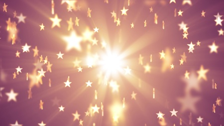 shiny stars random light illustration background new colorful joyful holiday music cool stock image Stock Photo