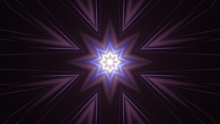 ornamental light rays kaleidoscope psychedelic pattern illustration background New holiday native colorful universal oyful music stock image Stock Photo
