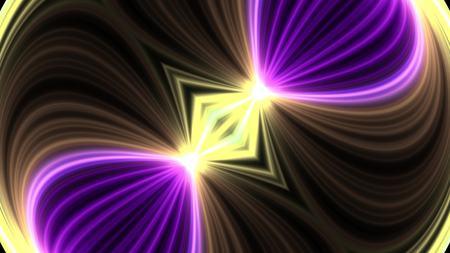 ornamental light rays kaleidoscope psychedelic pattern illustration background New holiday native colorful universal oyful music stock image Imagens