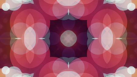ornamental geometric kaleidoscope flower pattern illustration background New holiday shape colorful universal joyful music video stock image