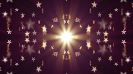 symmetrical shiny stars pattern illustration New holiday colorful universal joyful dance music stock image
