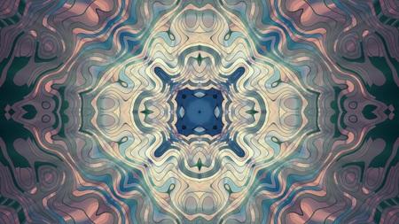 soft turbulent ornamental shiny light kaleidoscope ethnic tribal psychedelic pattern illustration background New quality retro vintage holiday native universal c cool nice joyful music image Imagens