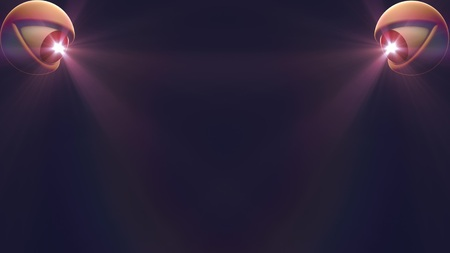 2 eyes with light beam shine rays background illustration New quality universal colorful joyful nice cool 4k stock image