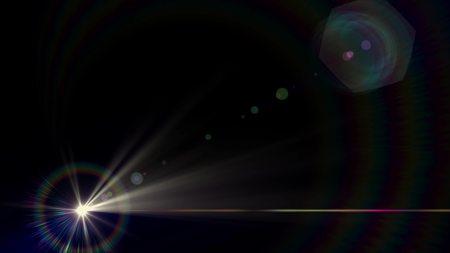 lights optical lens flares shiny bokeh illustration art background new natural lighting lamp rays effect colorful bright stock image