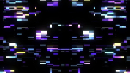 glitch interference screen background illustration new digital technology colorful stock image