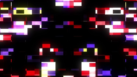 glitch interference screen background illustration new digital technology colorful stock image 스톡 콘텐츠 - 122089057