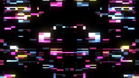 glitch interference screen background illustration new digital technology colorful stock image . 스톡 콘텐츠
