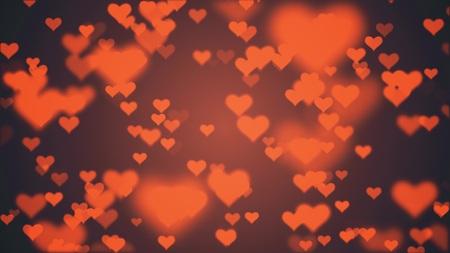 many heart shape like icon random illustration background New unique quality universal dynamic colorful joyful holiday stock image Reklamní fotografie - 122088463