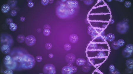 DNA spiral molecule illustration background new beautiful natural health cool nice stock image Фото со стока