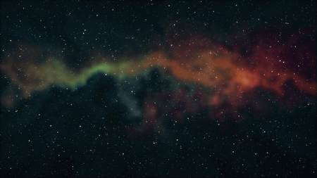 soft nebula space stars night sky illustration background new quality nature scenic school cool education colorful light stock image