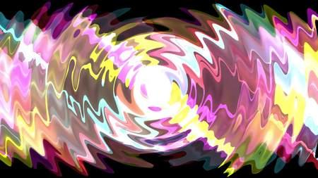 digital turbulent paint splash prism crystal soft abstract illustration background rainbow new unique quality colorful joyful stock image Фото со стока - 122696637