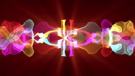 digital turbulent paint splash smoke cloud ribbon illustration background new unique quality colorful joyful stock image