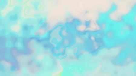 digital turbulent rainbow color paint splatter mixing on white abstract illustration background new unique quality colorful joyful beautiful Stock Photo