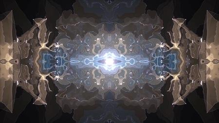 digital symmetrical energy neon shiny illustration background new unique quality art stylish colorful joyful cool nice beautiful stock image Imagens - 122754086