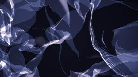 digital stylized turbelent smoke cloud simulation beautiful abstract illustration background new quality cool art nice stock image Stock Photo